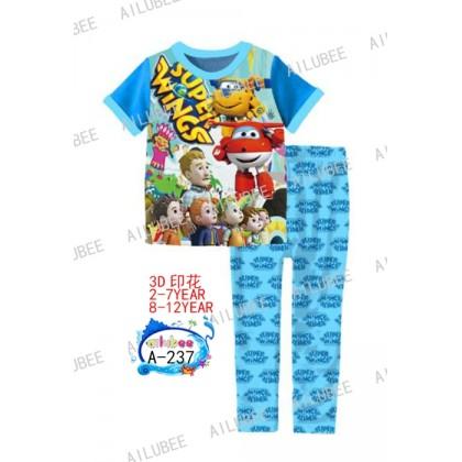 Super Wings Ailubee Pyjamas (A-237) 8y