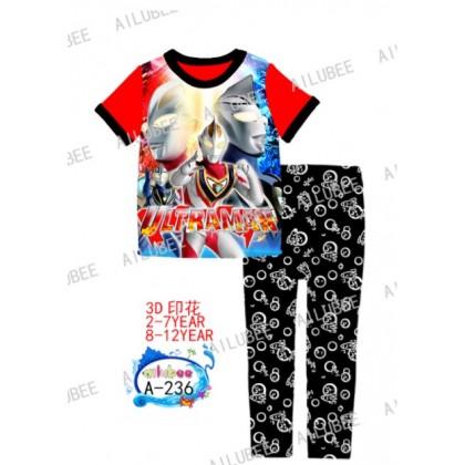 Ultraman Ailubee Pyjamas (A-236) 2y