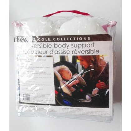 [READY STOCK] JJ COLE Baby stroller /carseat reversible body support cushion