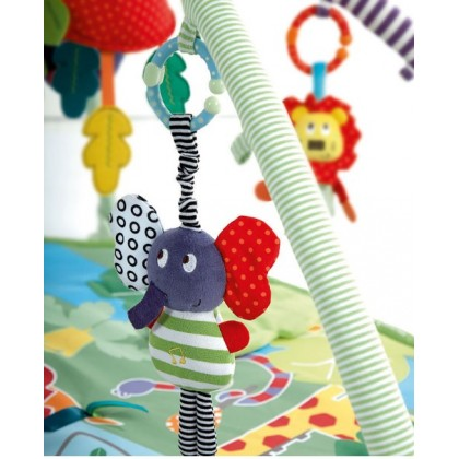 Mamamiya & Papas Multi Function Soft Plush Baby Rattle | Teether (READY STOCK)
