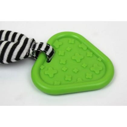 Mamamiya & Papas Multi Function Soft Plush Baby Rattle   Teether (READY STOCK)