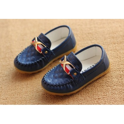 Girl/Boy Elegance Loafer Soft PU Leather Shoes