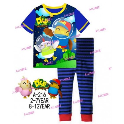 Didi&Friends Ailubee Pyjamas (A-216) 5Y