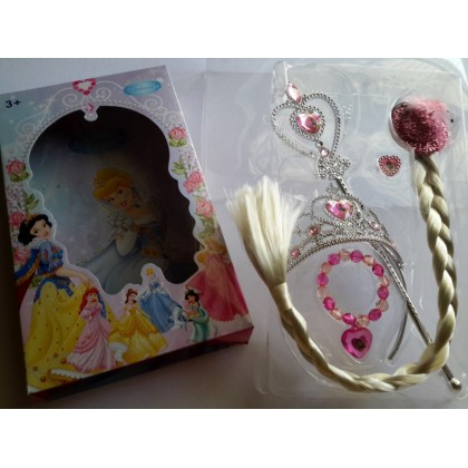 [READY STOCK] Frozen ELSA / Princess Crown set 5in1