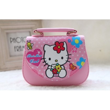 [READY STOCK] Cute Girl Hello Kitty Handbag bag | sling bag #2042