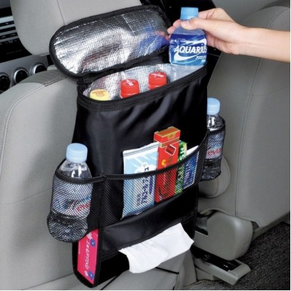 >RM10 CORNER< [READY STOCK] Multi-function Car BackSeat Organizer with aluminium foil