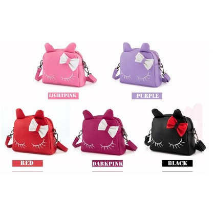 [READY STOCK] NEW Cute Girl Little Kitty Bigger Handbag bag | sling bag