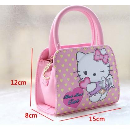 [READY STOCK] Cute Girl Hello Kitty Handbag bag | sling bag #2037