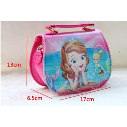 [READY STOCK] Cute Girl Sofia The First Handbag bag | sling bag #1021