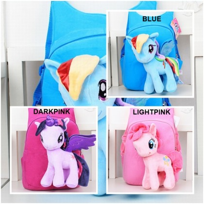 Cute Plush Toy Little Pony Bag Backpack