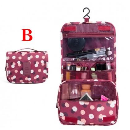 [READY STOCK] NEW Multi-Function Travel Packs Folding Cosmetic Bags Handbag Bags Waterproof Hooks Wash Bags