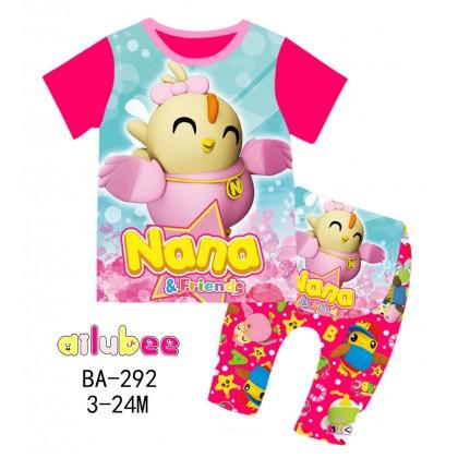 [READY STOCK] DIDI & FRIENDS Ailubee Kids Pyjamas (BA292 / 526) 3M-24M