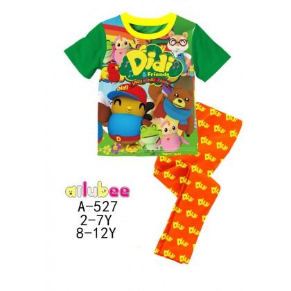 [READY STOCK] Didi&Friends Ailubee Kids Pyjamas (A527) 5Y