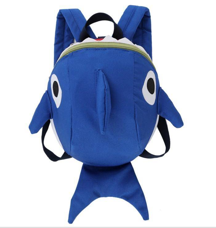 Ready Stock Cute Baby Shark Harness Backpack Bag