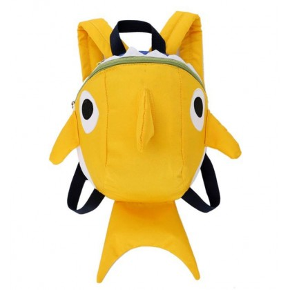 [READY STOCK] Cute Baby Shark Harness Backpack Bag