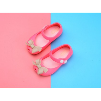 Kids Cartoon Jelly Shoes Sandal -Cute BowKnot
