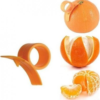 Creative Lemon Orange Peeler Finger Type