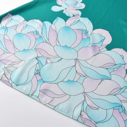 [READY RESTOCK] LNICE Minaz Inspired Floral Peplum Kurung