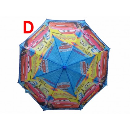 Kids Cartoon Long Umbrella CARS MCQUEEN