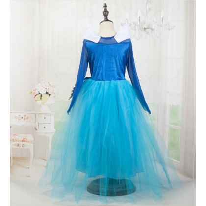 Disney Princess Aurora Of Sleeping Beauty Elegance Dress_BLUE