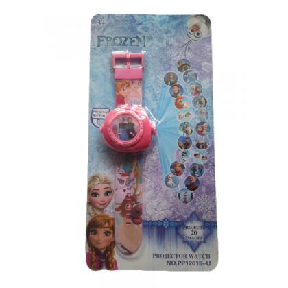Disney Cartoon 3D Digital Projection Watch - FROZEN