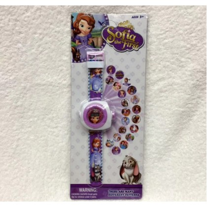 Disney Cartoon 3D Digital Projection Watch - SOFIA THE FIRST