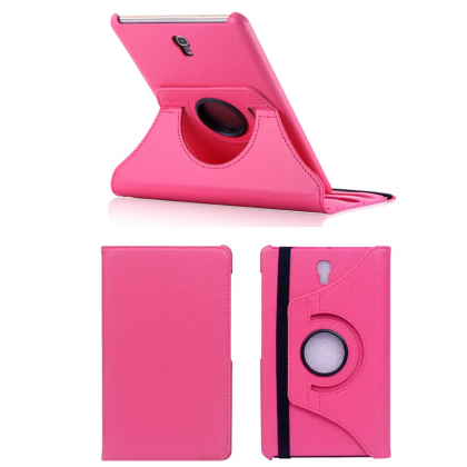 "360 Rotating Stand Leather Case Skin Cover For Samsung Galaxy Tab S 8.4"" SM-T707A T705Y T705C T705 T700 Tablet PC"