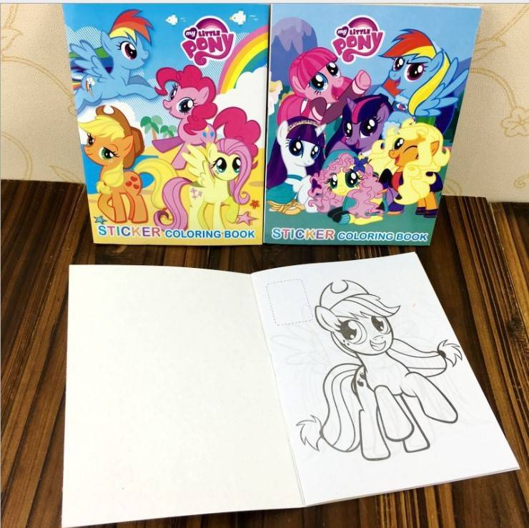My Little Pony Coloring Colouring Books Buku Mewarna