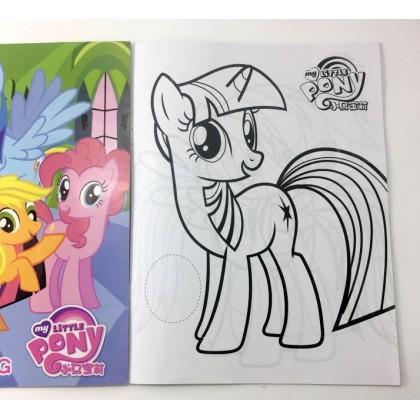 10.5 x 14cm My Little Pony Coloring Colouring Books Buku Mewarna