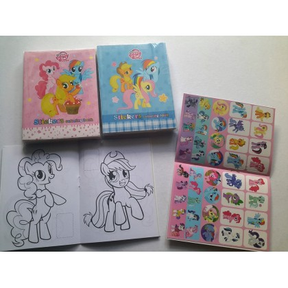 10.5 x 14cm My Little Pony Coloring Colouring Books Buku Mewarna