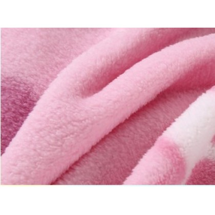 [READY STOCK] HELLO KITTY Coral Fleece Blanket Selimut Bigger Size 1.5x2M