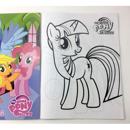 27x20.5CM Stickers Coloring Colouring Books Buku Mewarna
