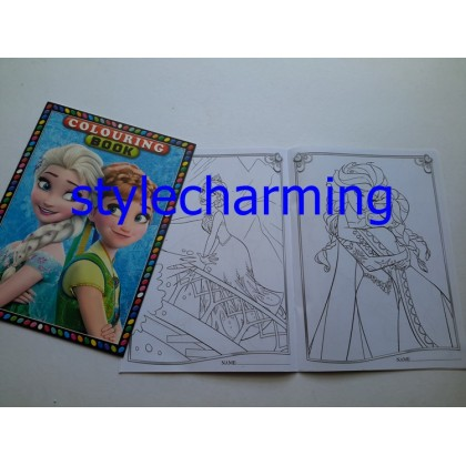 Colouring Book B5 My little Pony, Frozen Elsa Anna, Hello Kitty, Mickey, Cars