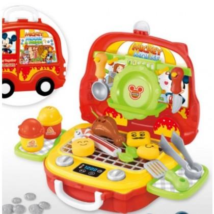 EDUCATION TOYS - Cartoon Portable Suitcase Playset Pretend Toys