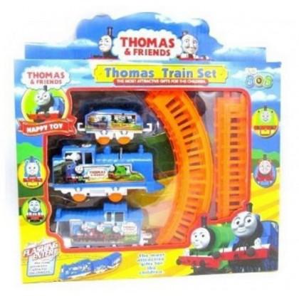 EDUCATION TOYS - Cartoon Gauge Electric Train Set Playset