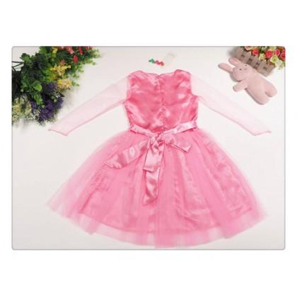 Frozen Elsa Pink Dress 2