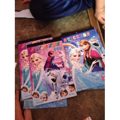 Frozen Stickers Books