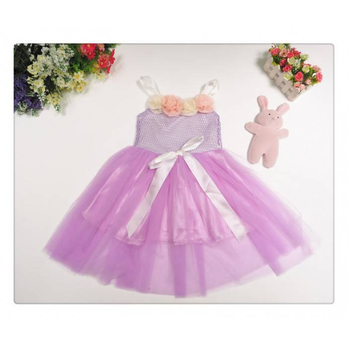 Flower Girl Purple Dress - P30880