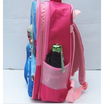 Frozen School Backpack -3D Measurement : 40cm x 29cm x 16cm