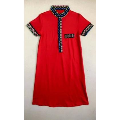 Boy Moden Jubah 7y-12y -Red (Big)