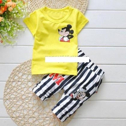 Korean Baby sets 2pcs (Girl/Boy) short sleeves