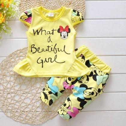 Korean Baby sets 2pcs (Girl) SC004