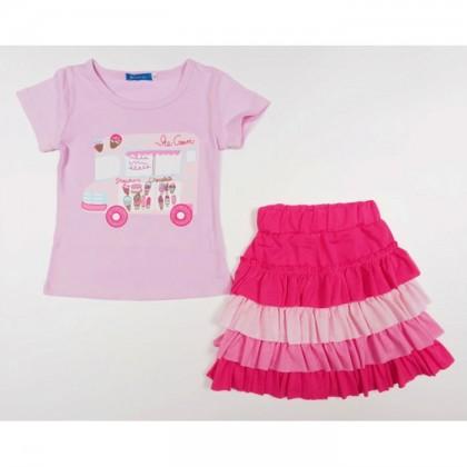 Girl Set (Top+Skirt) P30336-G