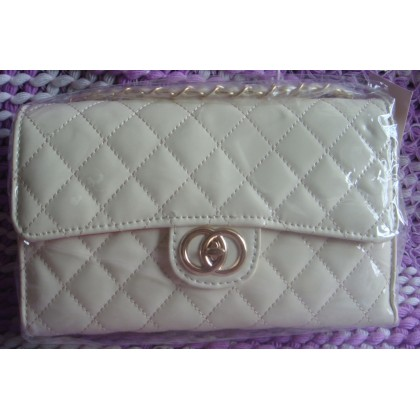 Korean Fashion Slingbag 011 (Milky White)