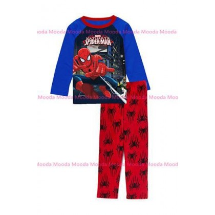 Spiderman Pyjamas (Size 2-7y)-Mooda