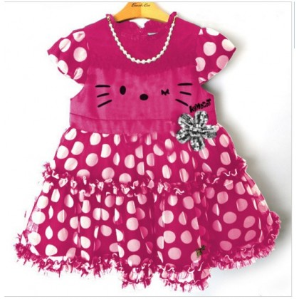 Hello Kitty Dress -Pinky