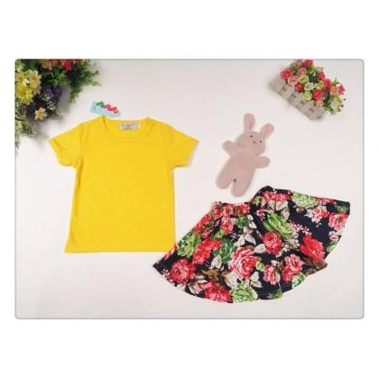 Girl Set Top+Skirt SA4224