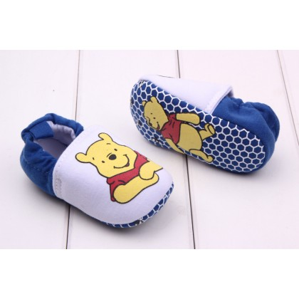 Baby Prewalker Shoes (White Pooh)