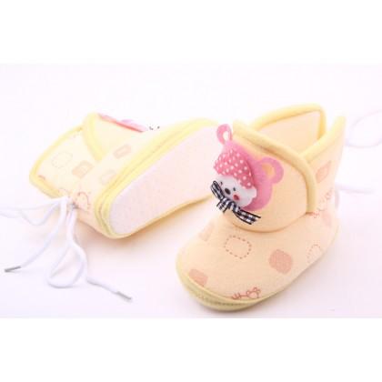 Baby velvet / fleece Toodler Shoes (4 color)