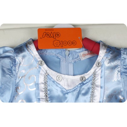 New Design Princess Cinderella Costume Dress